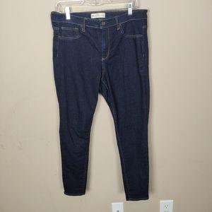 GAP easy leggings dark wash jeans